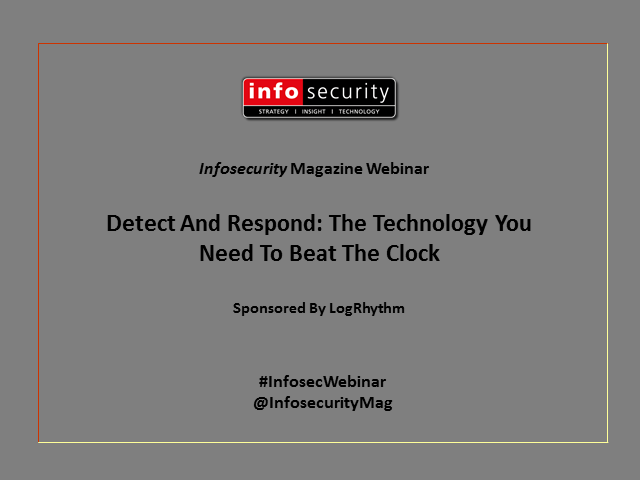 Detect And Respond: The Technology You Need To Beat The Clock