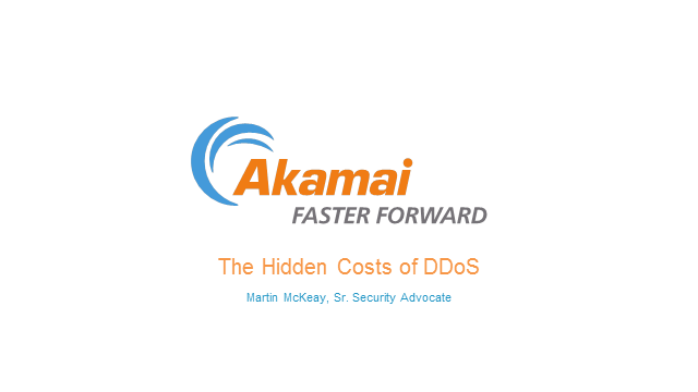 The Known and Unknown Costs of DDoS