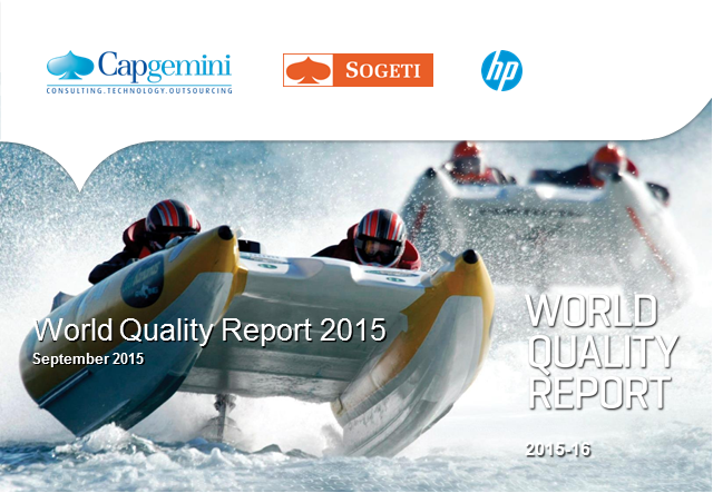 Emerging trends in QA & Testing: Key Findings from 2015-16 World Quality Report