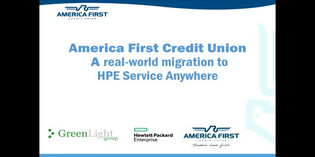 A Real World Experience of HP Service Anywhere Migration