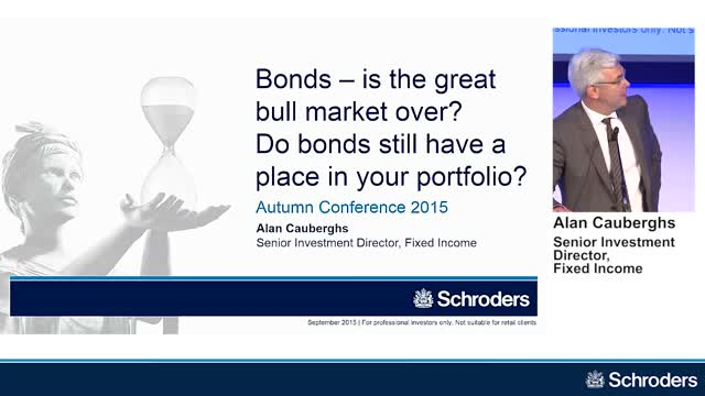 Alan Cauberghs - Schroders Autumn Conference 2015