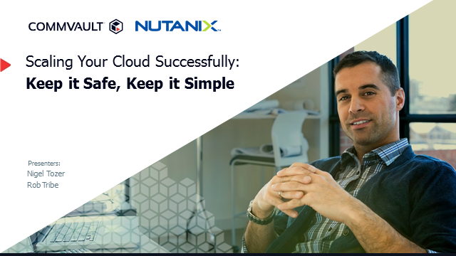 Scaling Your Cloud Successfully: Keep it Safe, Keep it Simple
