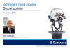 Schroders fixed income global update - November 2015