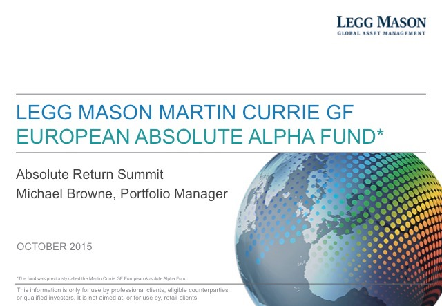 Sweet '16 – The Long and Short of European Equities