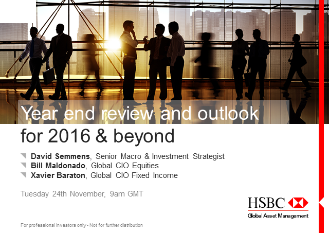 Investment outlook - Year end review and outlook for 2016