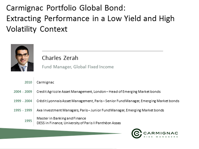 Bond Markets: Extracting Performance in a Low Yield and High Volatility Context