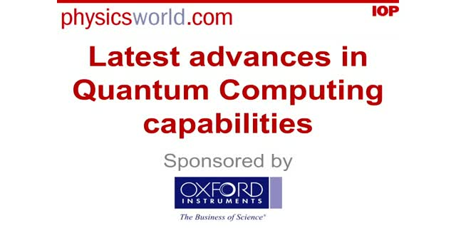 Latest advances in quantum computing capabilities