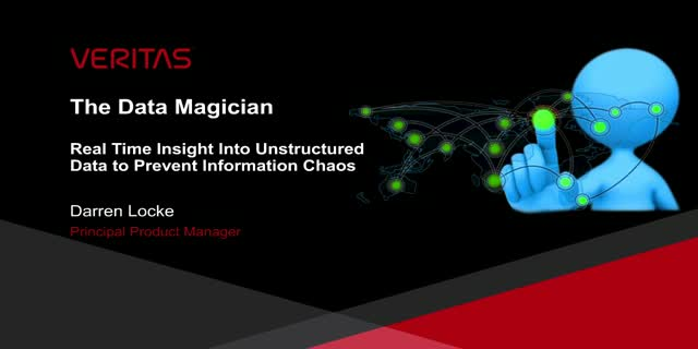 The Data Magician – Real time insight into unstructured data