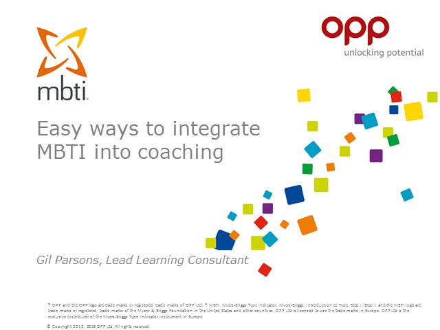 Easy ways to integrate the MBTI framework into coaching