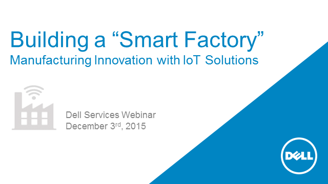 Building a Smart Factory: Manufacturing Innovation with IoT Solutions