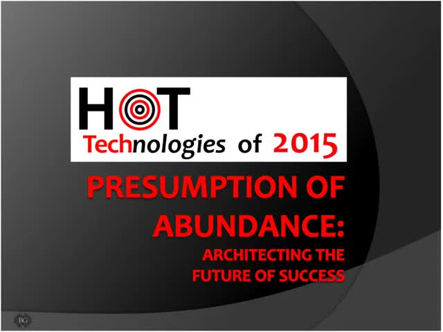 The Presumption of Abundance: Architecting the Future of Success
