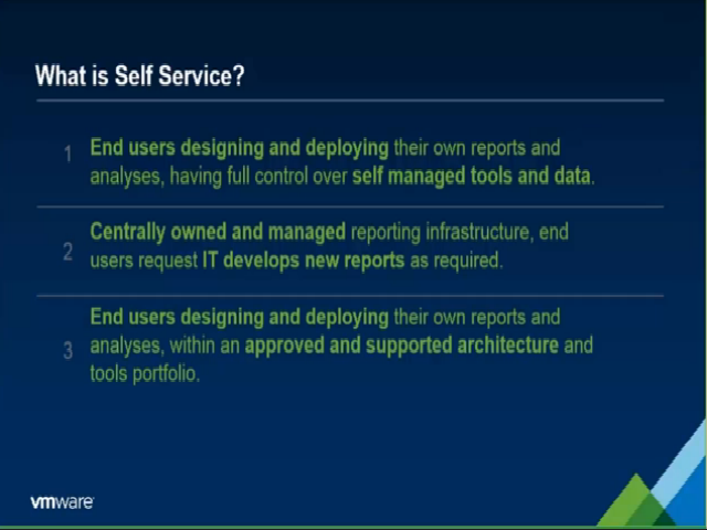 A New Era of User-Driven Business Intelligence at VMware