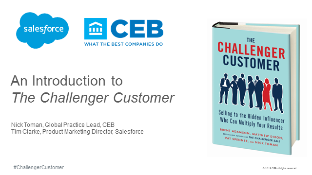 The Challenger Customer - Salesforce & CEB