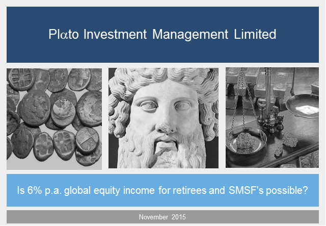Is 6% p.a. global equity income for retirees and SMSF's possible?
