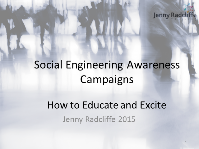How to Excite your staff about Social Engineering & Awareness