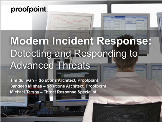 Proofpoint Threat Response Demo