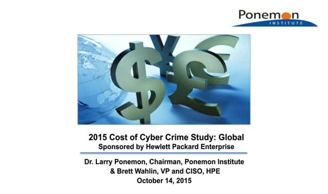 The cost of inaction—what cyber crime could cost your business