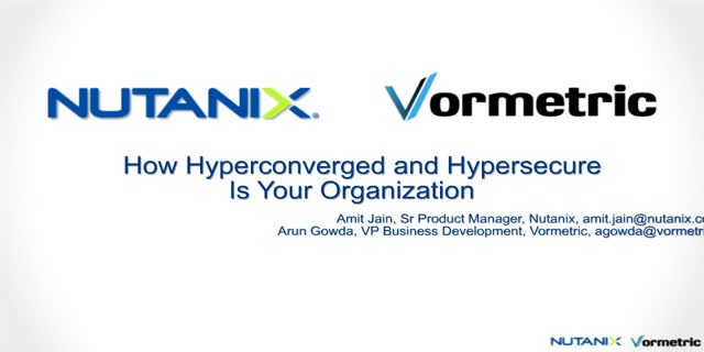 How Hyperconverged, Hypersecure Is Your Organization?
