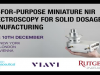 Fit-for-Purpose Miniature NIR Spectroscopy for Solid Dosage Manufacturing