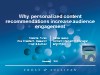 Why personalized content recommendations increase audience engagement