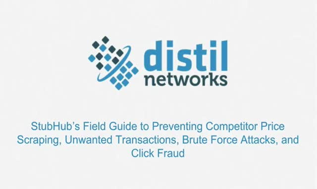 StubHub's Field Guide to Web Application Security