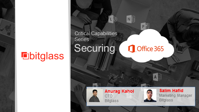 Critical Capabilities for Office 365 Security