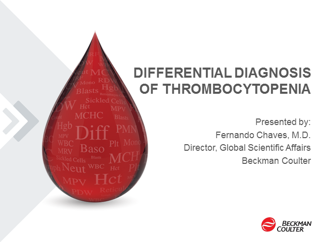 Differential Diagnosis of Thrombocytopenia