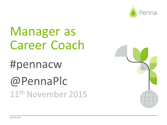 Manager as career coach.