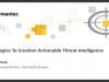 Strategies to Deliver Actionable Threat Intelligence