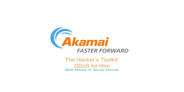Hacker's Toolkit:  DDoS for Hire