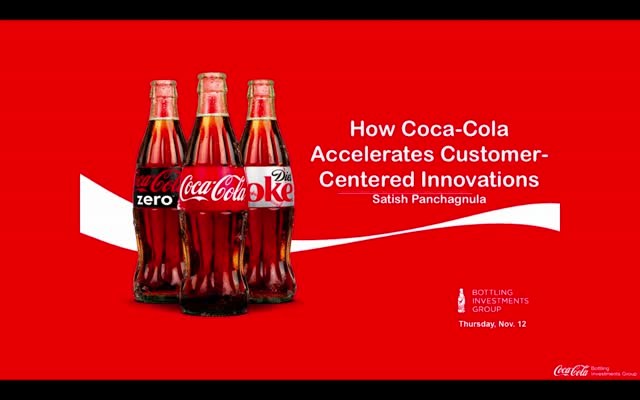 How Coca Cola Accelerates Customer-Centered Innovations