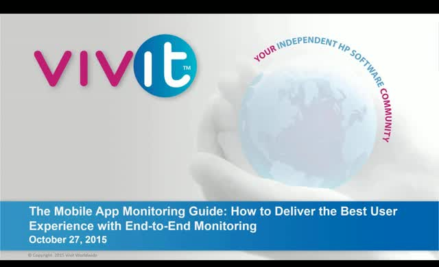 Deliver the Best User Experience with End-to-End Monitoring