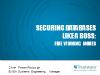 Securing databases like a boss: Five winning moves