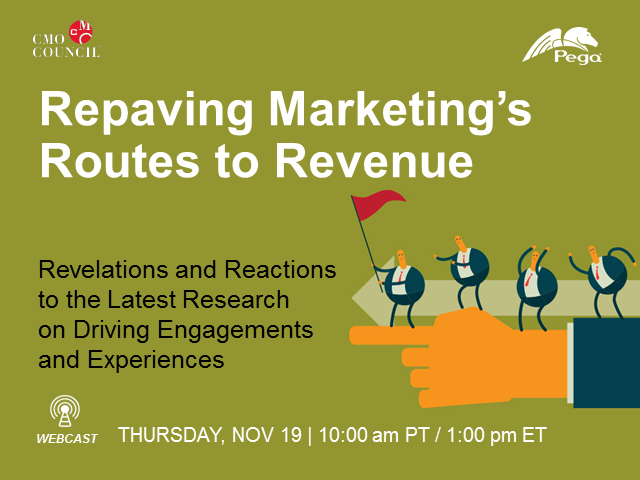 Repaving Marketing's Routes to Revenue