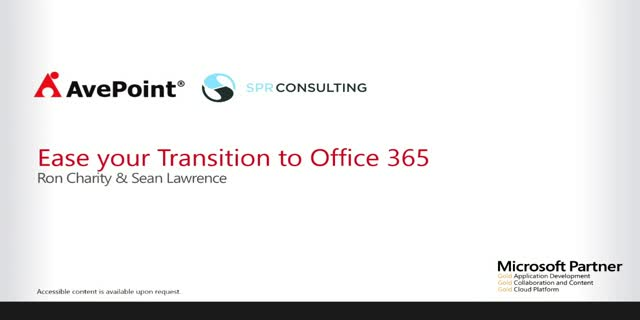 Ease Your Transition to Office 365 – SharePoint Online