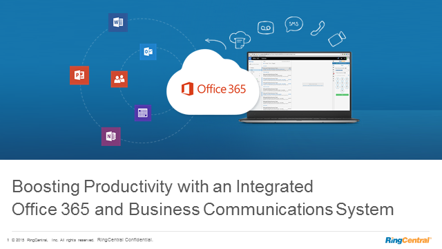 Boost Productivity: Integrate Microsoft Office 365 & Business Communications