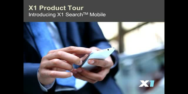 Introducing X1 Search Mobile to Your Enterprise