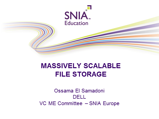 Massively Scalable File Storage