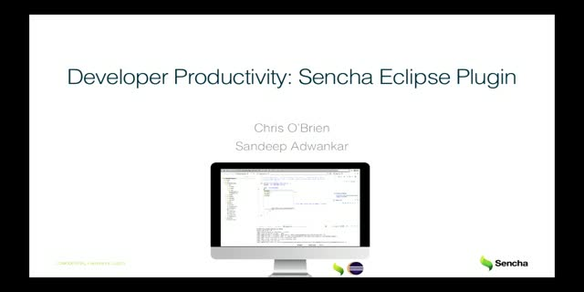 Improving Developer Productivity: Sencha Eclipse Plugin