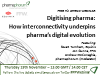 Digitising pharma: How interconnectivity underpins pharma's digital evolution