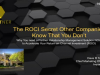 The ROCI Secret Other Companies Know That You Don't