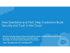 How Salesforce and PwC Help Customers Build Security and Trust in the Cloud