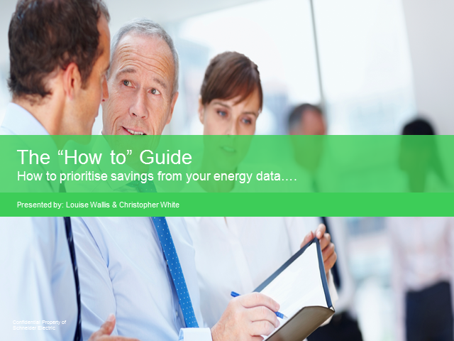 How to prioritise savings from your energy data