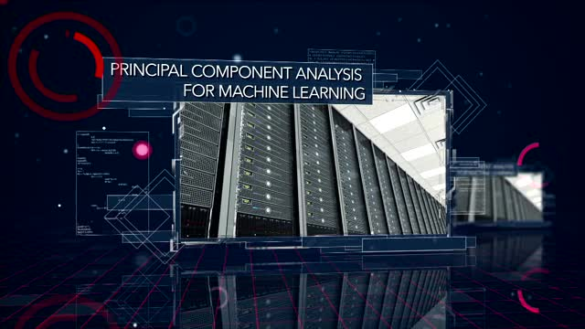 principal component analysis machine learning