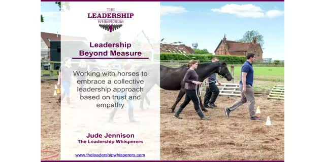 Leadership Beyond Measure: Collective leadership based on trust & relationships