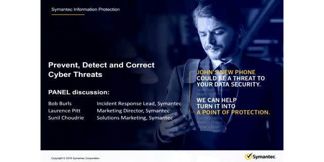 Prevent, Detect & Correct Cyber Threats