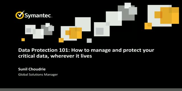 Data Protection 101: Follow and protect your critical data, wherever it lives