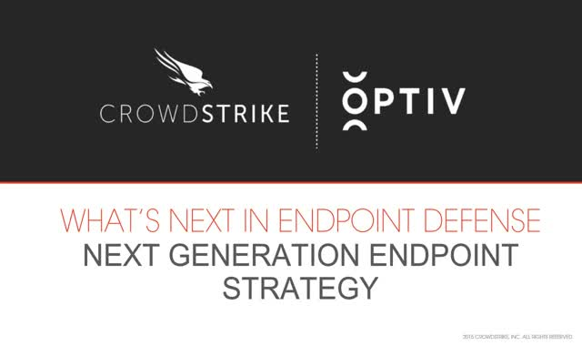 What's Next in Endpoint Defense?