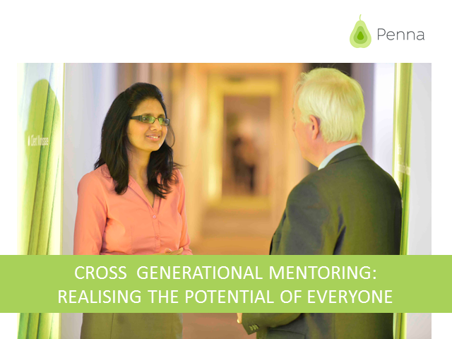 Cross generational mentoring: releasing everyone's potential