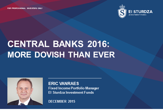 Central banks 2016: more dovish than ever